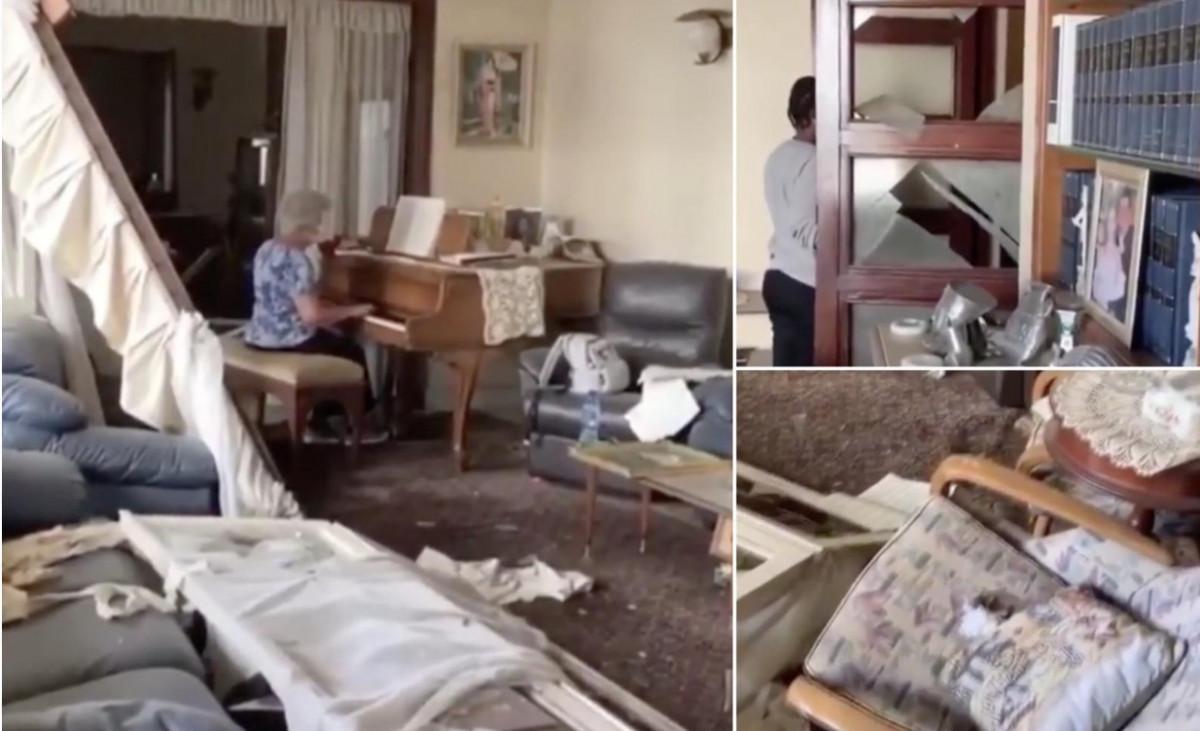 Beirut Suona Il Piano Nella Casa Distrutta Dall'esplosione Commovente Video